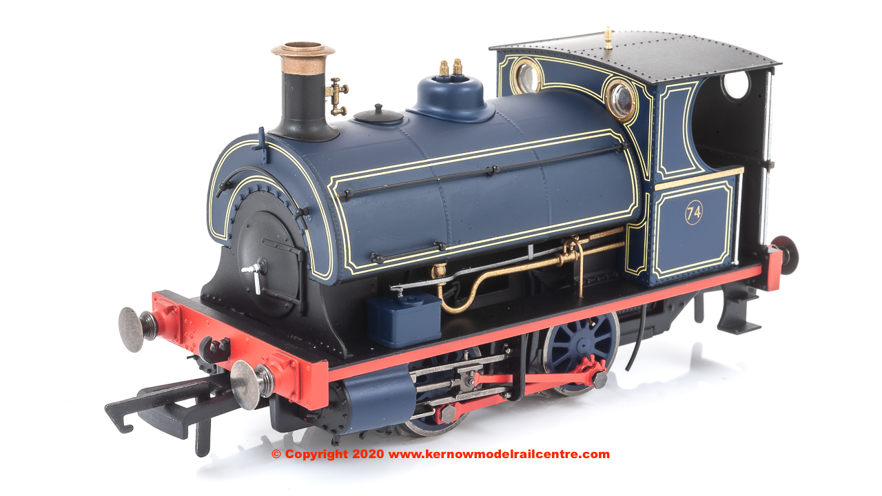 R3679 Hornby Peckett 0-4-0 Steam Loco Image