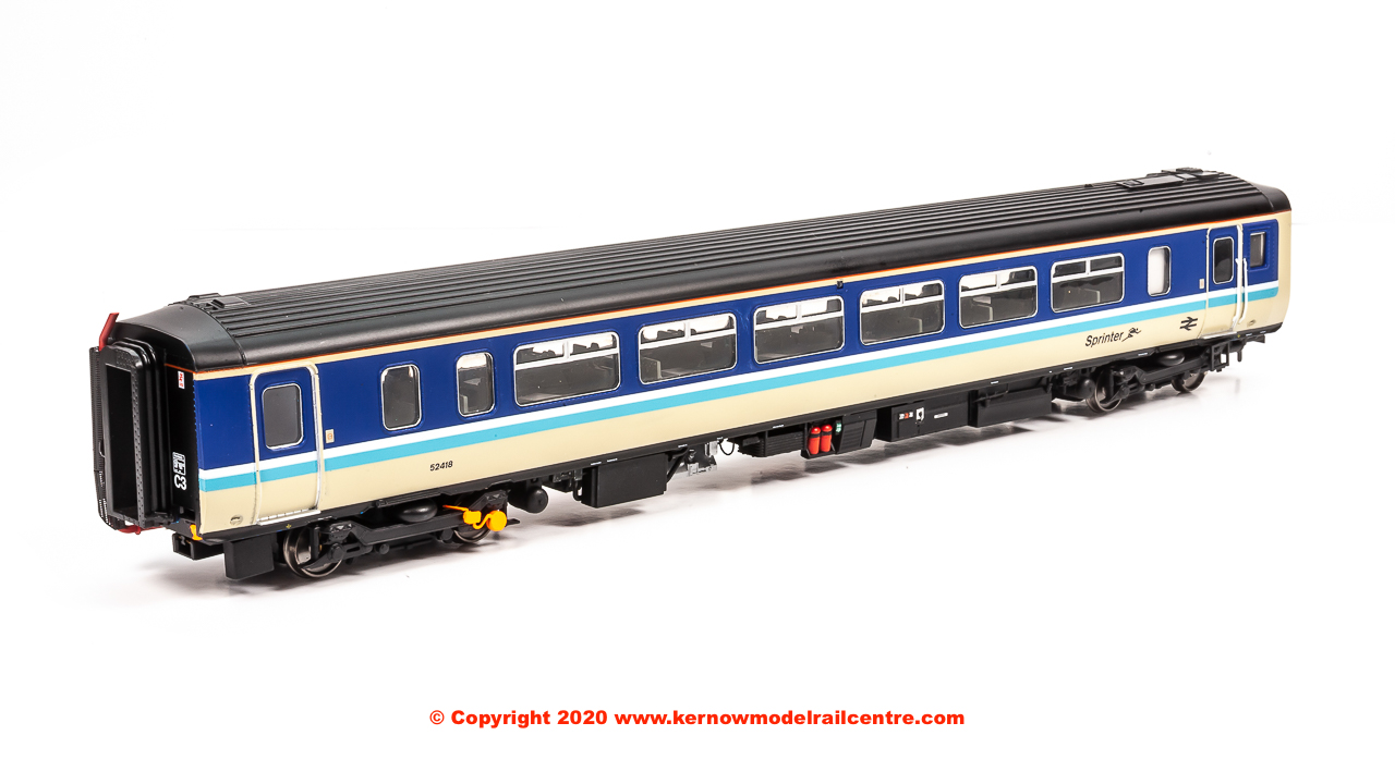 156-314 Realtrack Models Class 156 2 Car Sprinter DMU number 156 418 in BR Provincial Sprinter livery