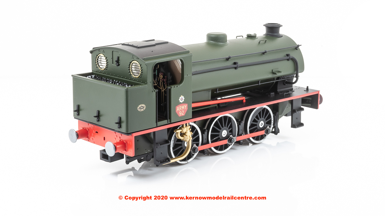 E85006 EFE Rail Class J94 0-6-0 Steam Locomotive number 92 in Army Green livery