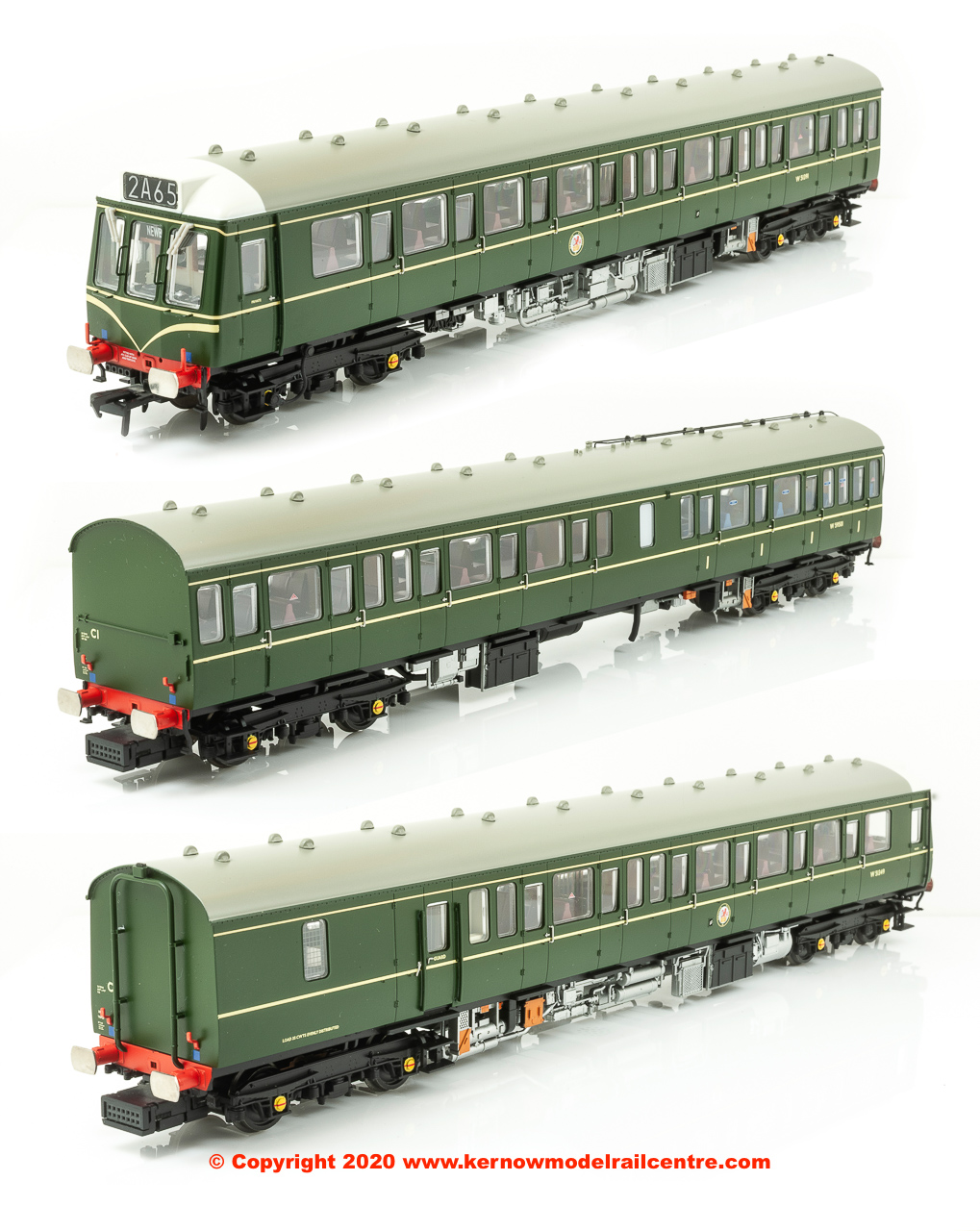 35-500 Bachmann Class 117 3 Car WR DMU Image