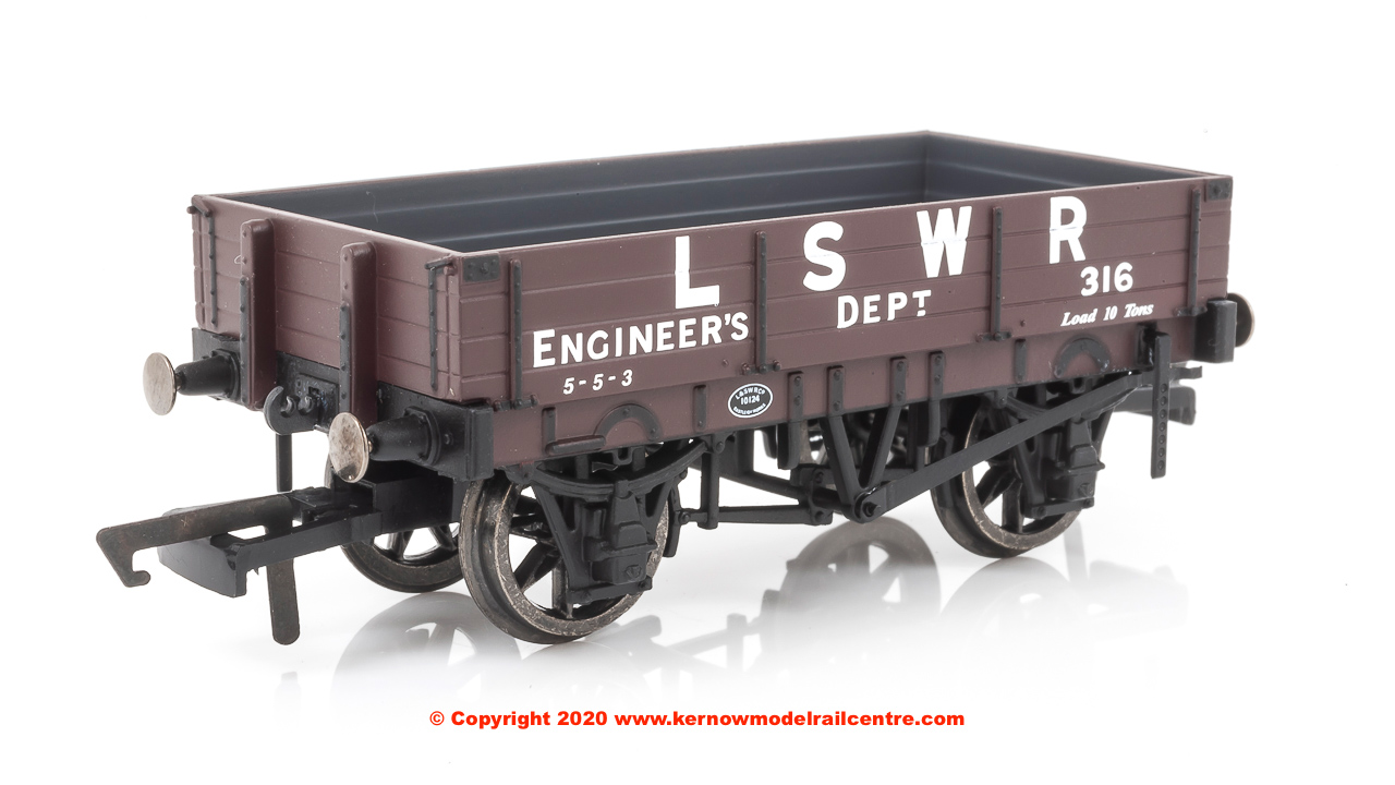 R6944 Hornby 3 Plank Wagon LSWR Image
