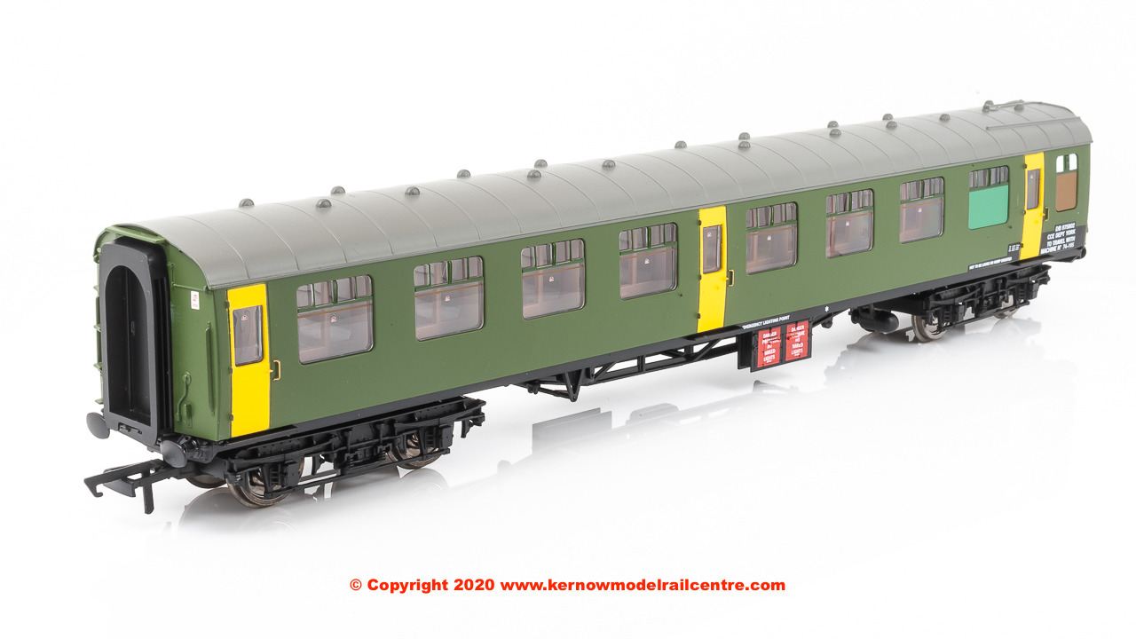 R40007 Hornby ex-Mk1 SK Ballast Cleaner Train Staff Coach number DB 975802 in BR Departmental livery