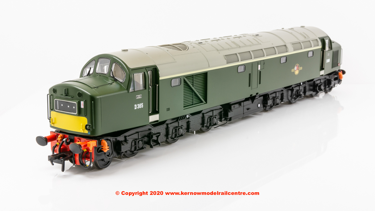 32-485 Bachmann Class 40 Diesel Locomotive number D365 in BR Green livery with small yellow panels