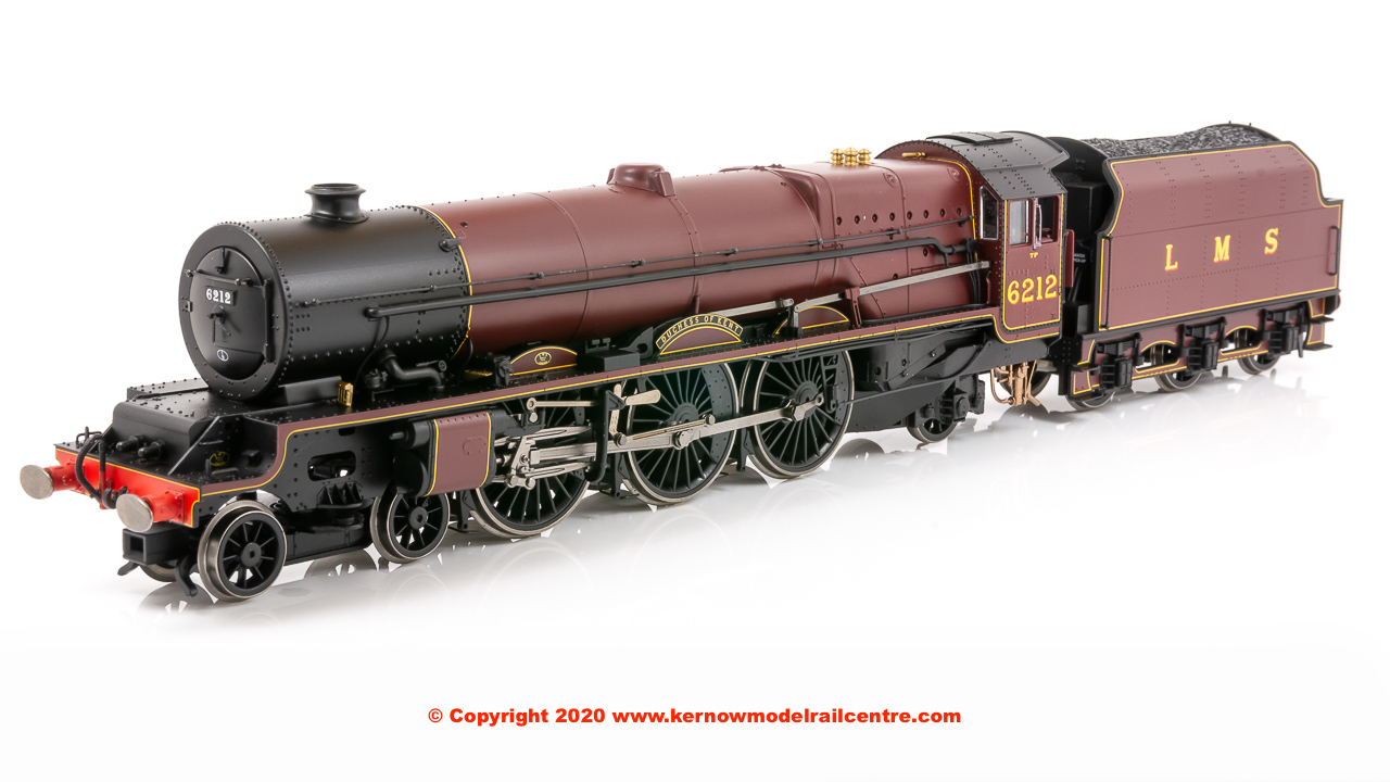 "R3854 Hornby Princess Royal Class 4-6-2 Steam Locomotive number 6212 ""Duchess of Kent"" in LMS Maroon"