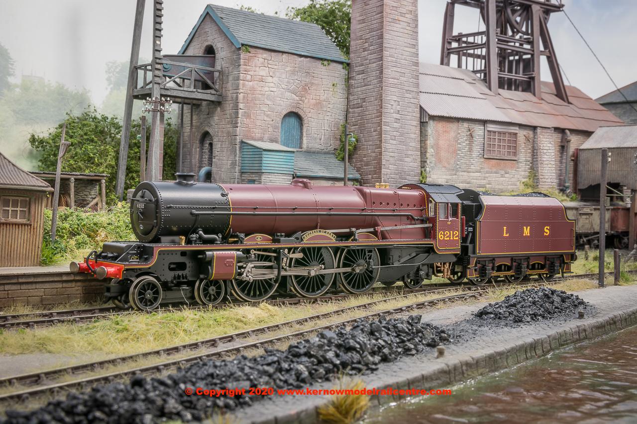 Hornby R3854 LMS Steam Princess Royal Class 6212 Duchess of Kent 4-6-2 Era 3 Locomotive