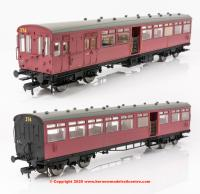E86001 EFE Rail LSWR Push-Pull Gate Set number 374 in BR Crimson livery