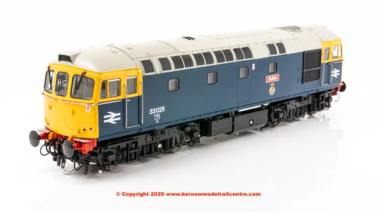 3441 Heljan Class 33 Diesel Sultan Image