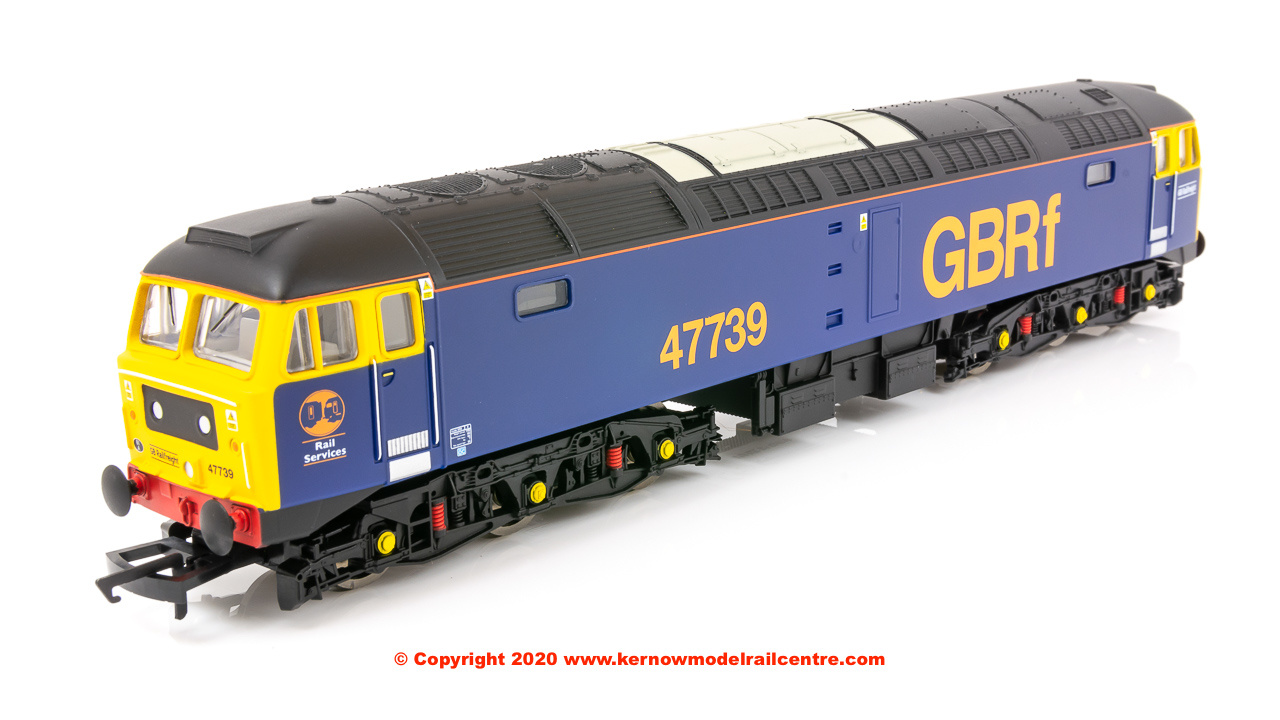 R3906 Hornby Railroad Class 47/7 Co-Co Diesel Locomotive number 47 739 in GBRf livery