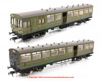 E86002 EFE Rail LSWR Push-Pull Gate Set number 373 in SR Olive Green livery