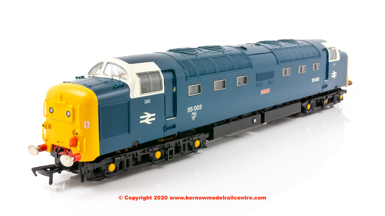 32-532A Bachmann Class 55 Deltic Diesel Loco number 55 003 'Meld' in BR Blue livery