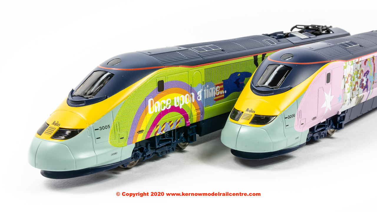 R1253M Hornby Eurostar 'Yellow Submarine' Train Set