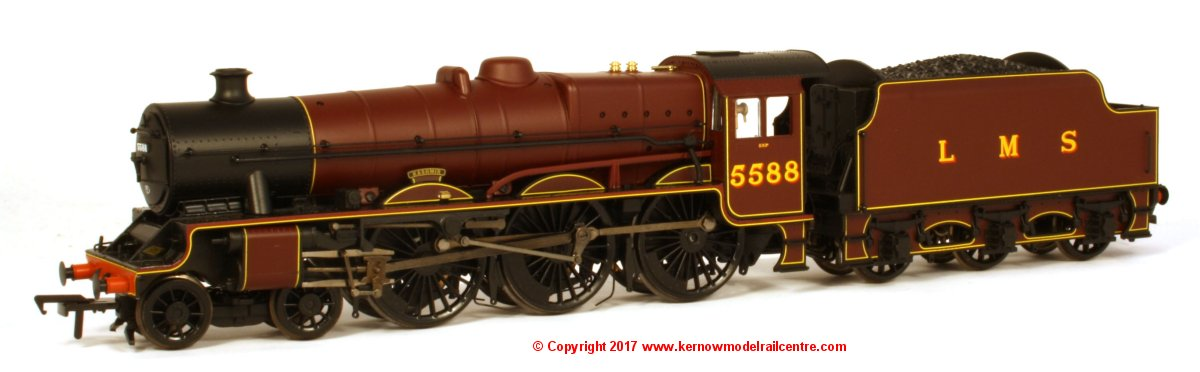 31-187DS Bachmann Jubilee Steam Loco Image