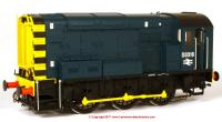 7D-008-010 Dapol Class 08 Diesel Locomotive number D3316 in BR Blue livery with no ladder