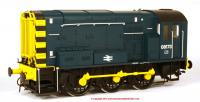7D-008-011 Dapol Class 08 Diesel Locomotive number 08 173 in BR Blue livery with no ladder