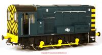 7D-008-011U Dapol Class 08 Diesel Locomotive in BR Blue livery with no ladder
