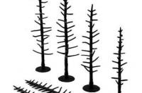 "TR1125 Woodland Scenics Tree Armatures, 44 Pines 4"" - 6"""