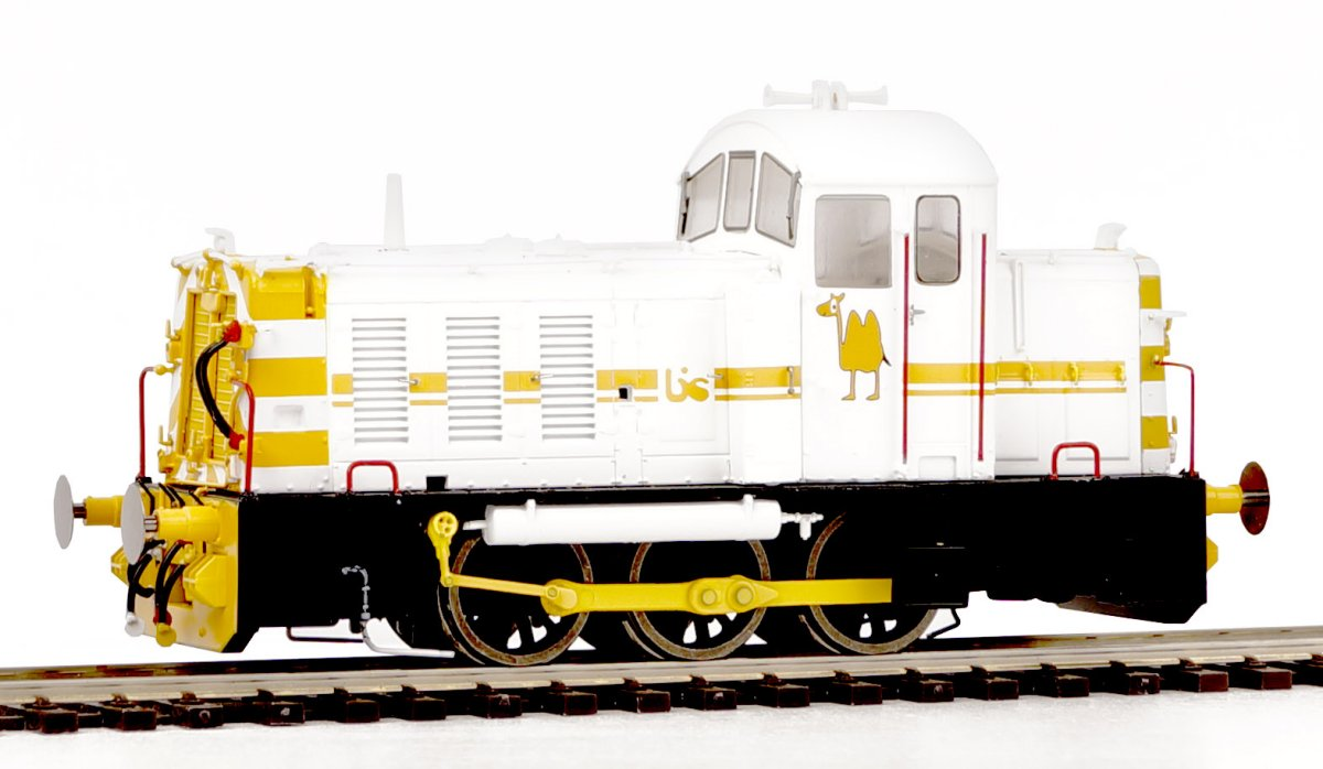 2913 Heljan Class 07 Diesel Shunter number 07 003 in British Industrial Sand livery