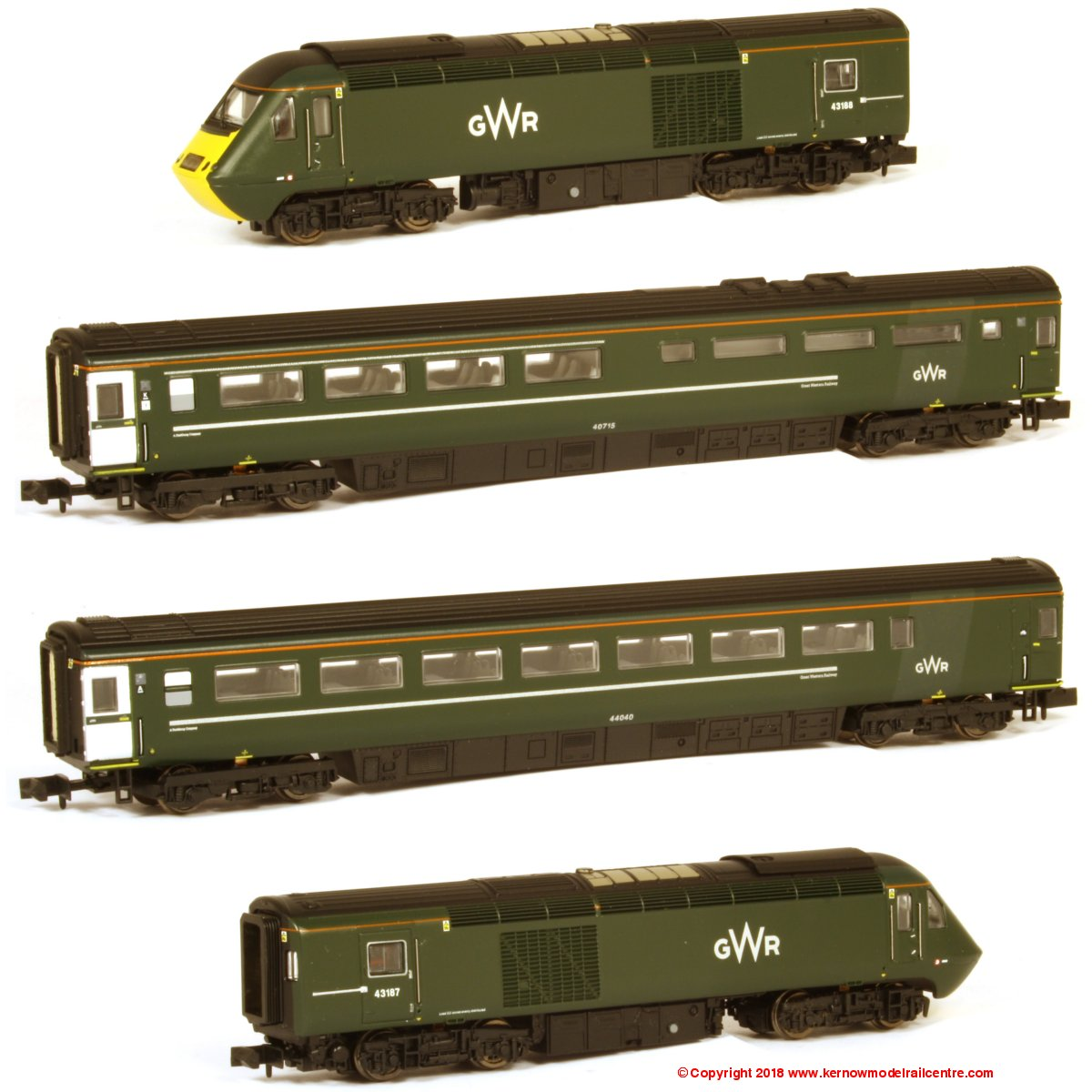2D-019-009 Dapol GWR HST Pack Image