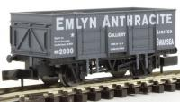 2F-038-009 Dapol 20 Ton Steel Mineral Wagon number 2000 - EMLYN ANTHRACITE
