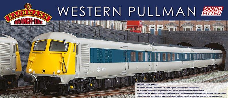 30 -420SP Bachmann Western Pullman Train Pack Image
