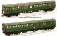 31-236X K2004 Bachmann Class 205 2-H Thumper Unit number 1121 in BR Green livery with small yellow panel