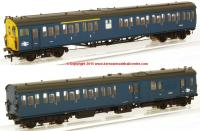 31-238Z K2005 Bachmann Class 205 2-H Thumper Unit number 1122 in BR Blue livery with full yellow ends