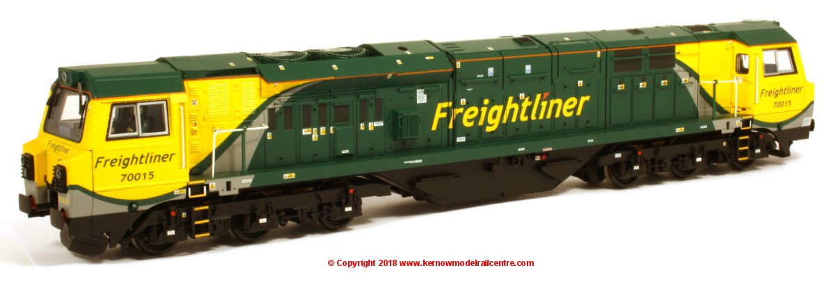 31-590 Bachmann Class 70 Diesel Locomotive number 70 015 in Freightliner livery