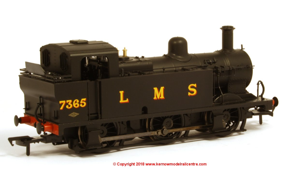 32-227DS Bachmann Fowler Class 3F 0-6-0 Jinty Steam Locomotive number 7365 in LMS Black livery