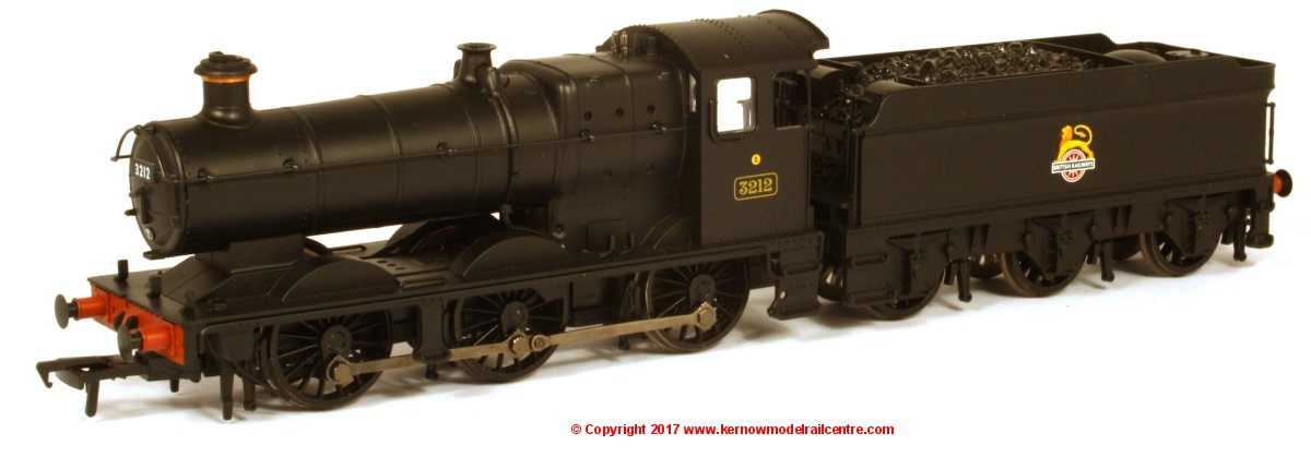 32-301A Bachmann Collett Goods Steam Locomotive number 3212 in BR Black livery with early emblem