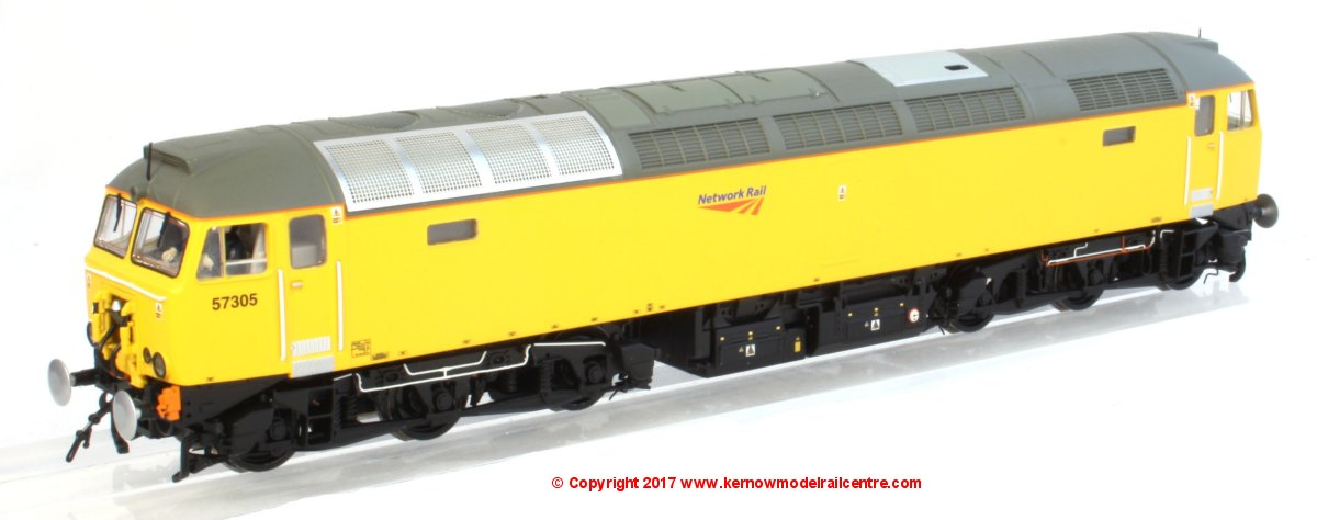 "32-762Z Bachmann Class 57 Diesel Locomotive number 57 312 in Network Rail livery known as ""Sand Castle""!"