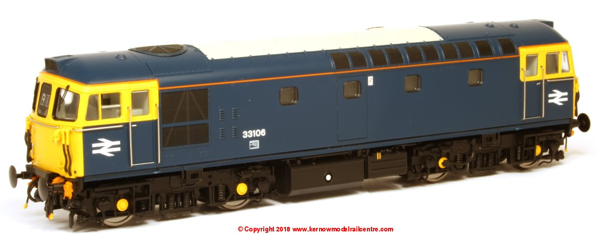 3458 Heljan Class 33/1 Diesel Locomotive Image