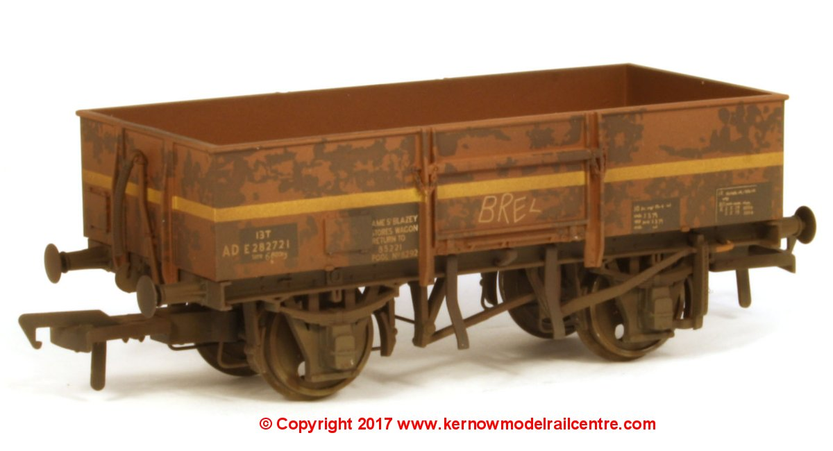 "38-328Z Bachmann High Sided Steel Wagon number ADE282721 branded ""AME St Blazey Stores Wagon""."