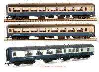 39-001T + 39-380Z PACK Bachmann Network SouthEast Mk2 Coach Pack