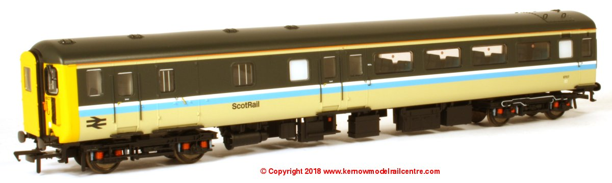 39-726DC Bachmann BR MK2F DBSO Driving Brake Second Open number 9707 in ScotRail livery DCC