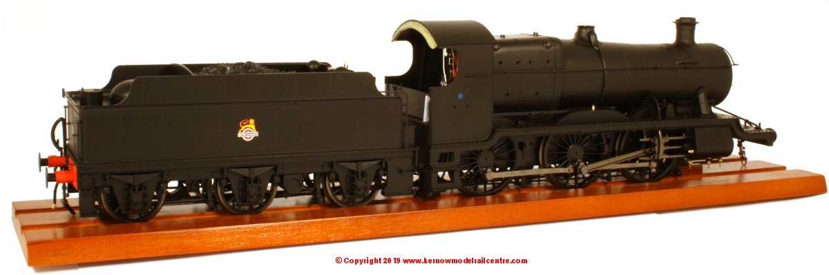 43101 Heljan 43xx GWR Mogul Steam Locomotive number 5378 in BR Black livery with early emblem