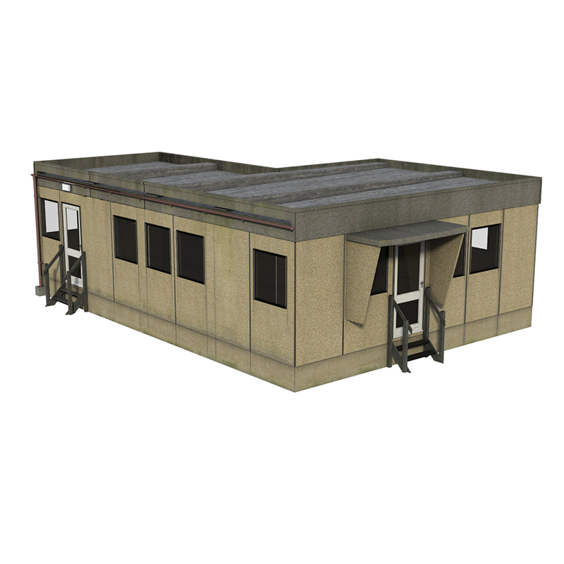 44-0094 Bachmann Scenecraft Rendered Prefab Building
