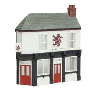 44-0201 Bachmann Scenecraft Low Relief Corner Pub, The Red Lion
