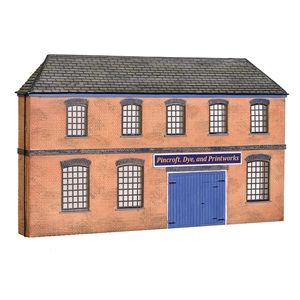 44-0205 Bachmann Scenecraft Low Relief Victorian Factory Front