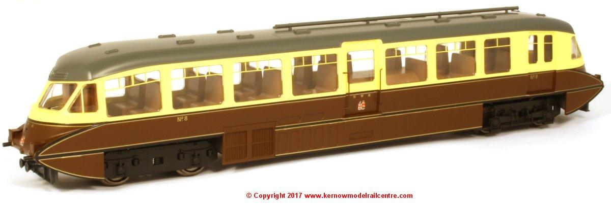 4D-011-004 Dapol GWR Streamline Railcar Image