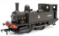 4S-018-004 Dapol B4 0-4-0T Steam Locomotive number 30089 in BR Black livery with early emblem