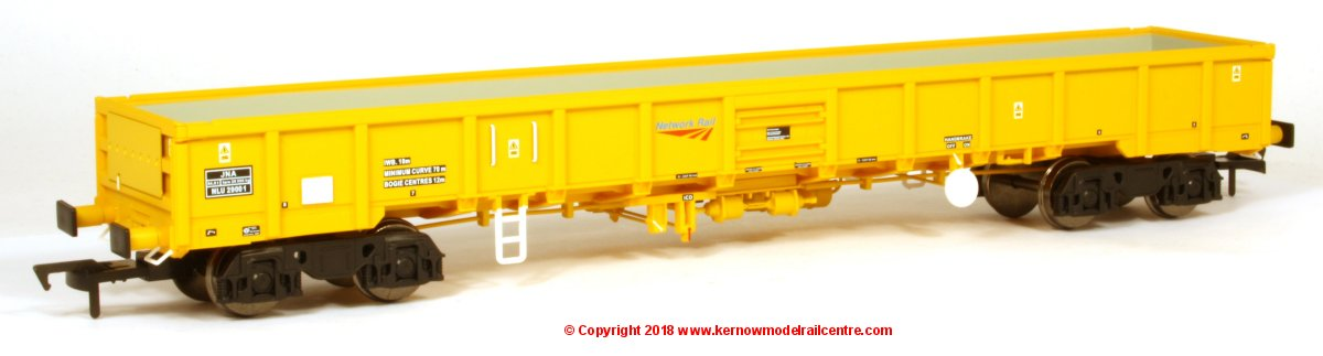 4F-010-005 Dapol JNA Falcon Open Wagon number NLU29001 in Network Rail Yellow livery