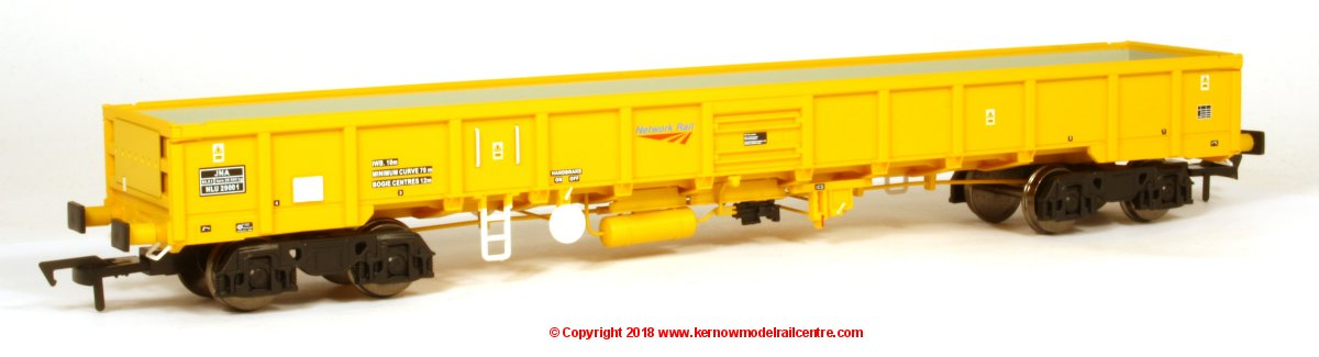 4F-010-006 Dapol JNA Falcon Open Wagon number NLU29021 in Network Rail Yellow livery