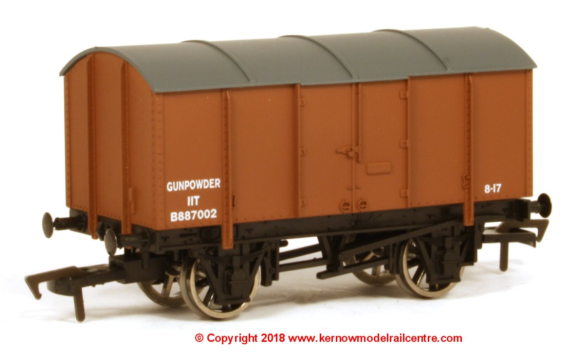 4F-013-021 Dapol Gunpowder number B887002 in BR Brown livery