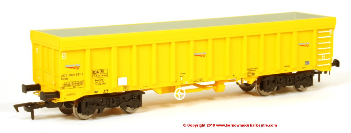 4F-045-010 Dapol IOA Open Wagon number 3170 5992 001-5 in Network Rail livery