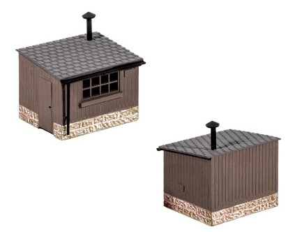 511 Ratio Lineside Huts (Pack of 2)