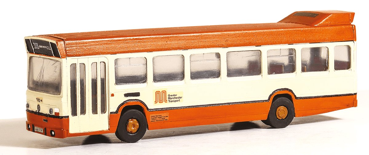 5140 Model Scene Leyland National Bus Kit, Greater Manchester