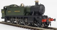 6100 Heljan 61xx GWR Large Prairie Steam Locomotive number 6110