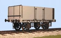 7059 Slaters 7 Plank Gloucester Railway Carriage and Wagon Company side and end door Open Wagon Kit