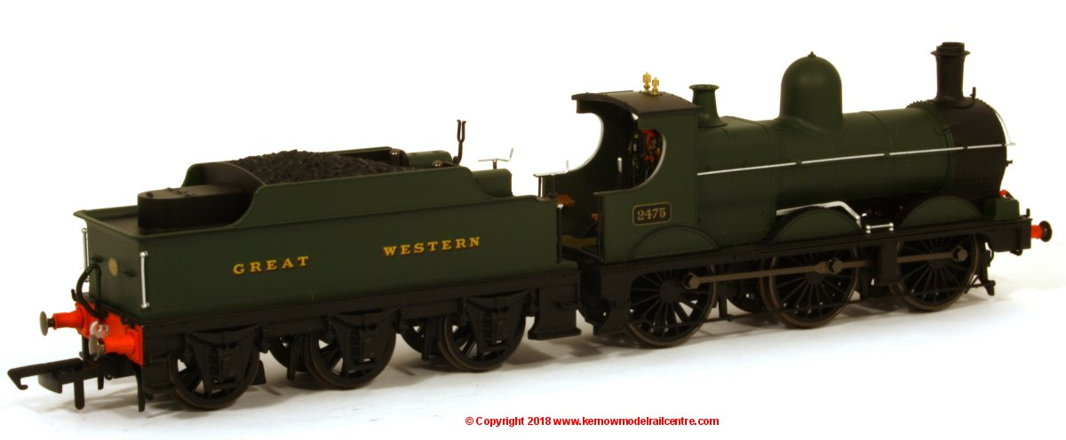 76DG003XS Oxford Rail Deans Goods Steam Locomotive number 2475 in GWR Green livery