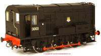 7D-008-007 Dapol Class 08 Diesel Locomotive number 13003 in BR Black livery